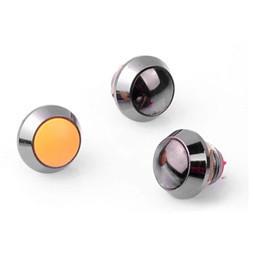 12mm全金属防水按钮开关 ?无灯无锁