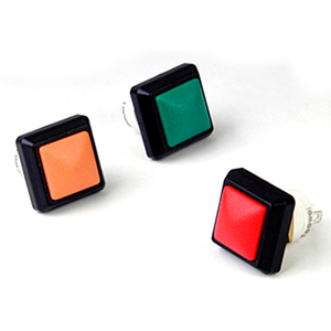 12 mm  square waterproof button switch without lamp