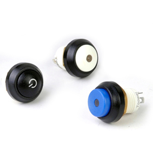 12 mm Waterproof Button Switch-Split Circular Belt Lamp