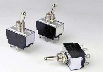 T601系列钮子开关 双组焊接脚