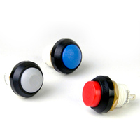 12 mm  round waterproof button switch without lamp