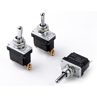 T500 Waterproof Button Switch Single Set of Screw Terminals